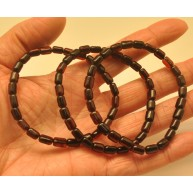 Lot of 3 greek style Baltic amber bracelets