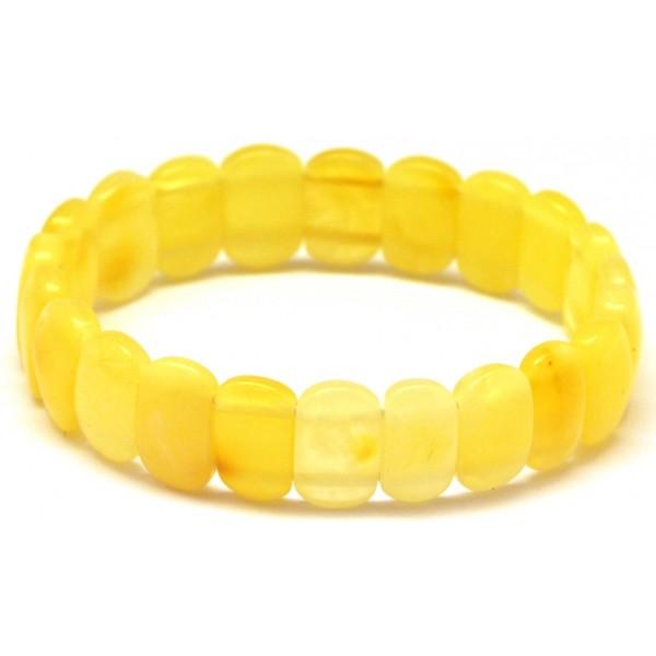 Classic genuine Yellow  Amber Bracelet