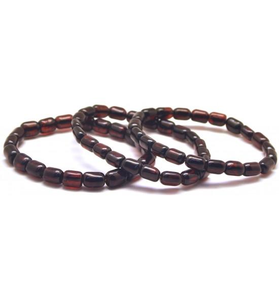 Lot of 3 greek style Baltic amber bracelets