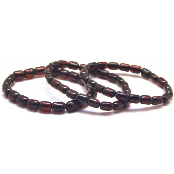 Amber bracelets | Lot of 3 greek style Baltic amber bracelets