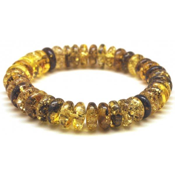 Baltic amber elastic bracelet-AB2998