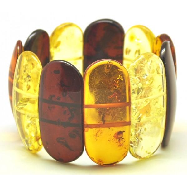 Classic Baltic amber bracelet-AB2964