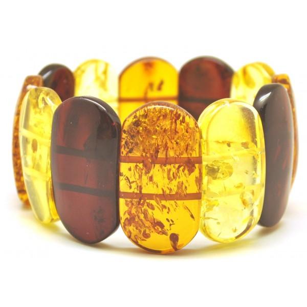 Classic Baltic amber bracelet-AB2999