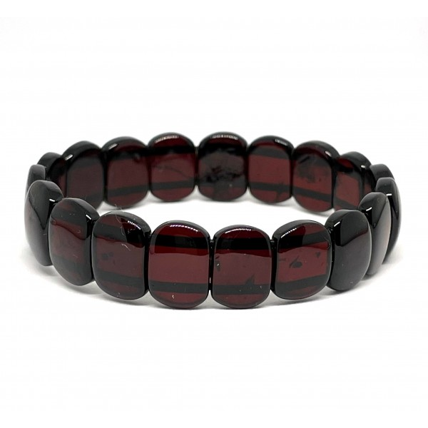 Cherry classic amber bracelet -