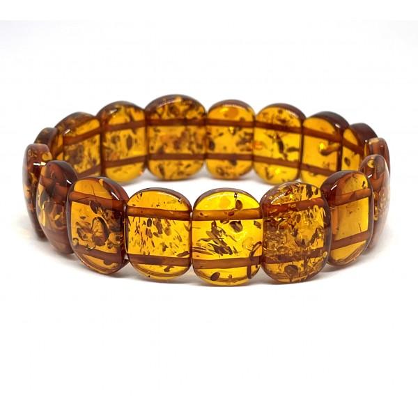 Classic Baltic amber bracelet -