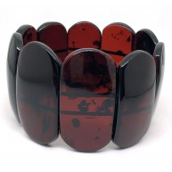 Genuine BALTIC AMBER cherry Bracelet -AB3021