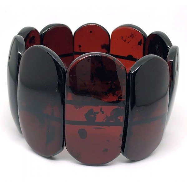Genuine BALTIC AMBER cherry Bracelet -AB3021
