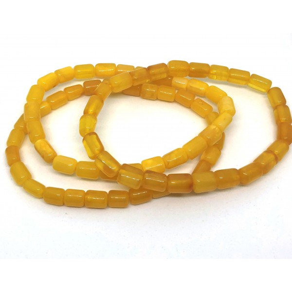 Lot of 3 greek style Baltic amber bracelets-AB3026
