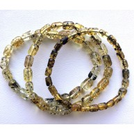 Lot of 3 greek style Baltic amber bracelets-AB3042