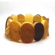 Raw classic Baltic amber bracelet 39g.
