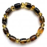 Natural Plant Amber Stretch Bracelet