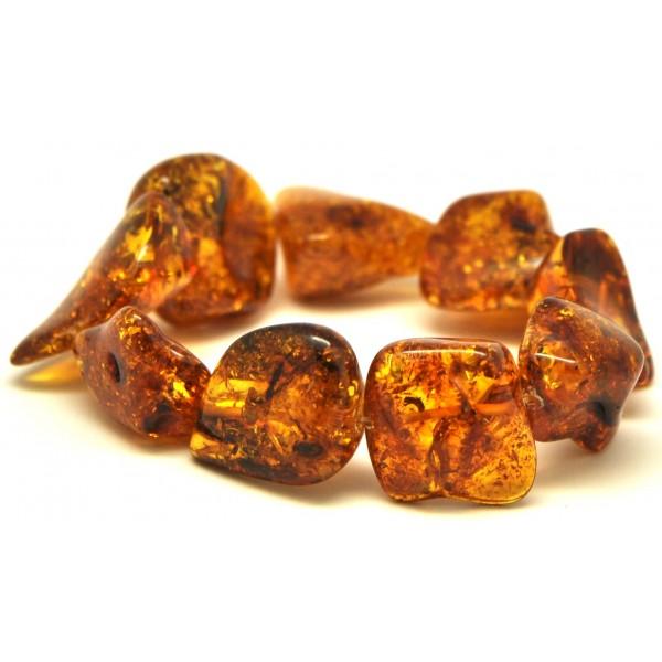 Amber Bracelets Natural Shapes Baltic Bracelet