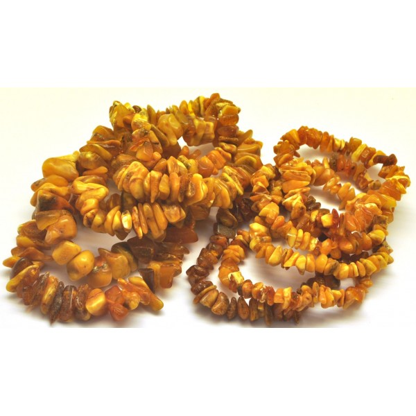 Amber bracelets | 10 Real Antique Baltic amber chip bracelets