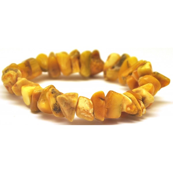 Real antique Baltic amber bracelet-AB2552