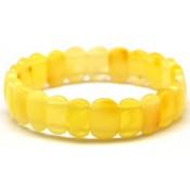Classic yellow Baltic amber bracelet