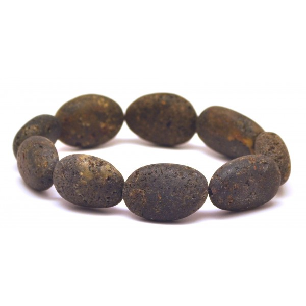 Amber bracelets | Raw healing big beads Baltic amber bracelet