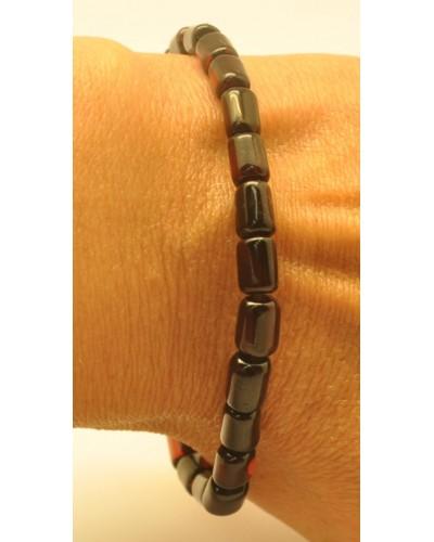 Cherry barrel shape Baltic amber bracelet