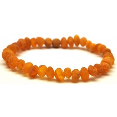 Raw Baltic amber bracelet-AB2334
