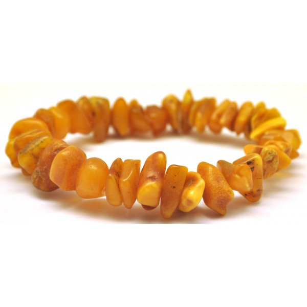 Real antique Baltic amber bracelet-AB2451