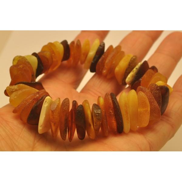 Amber bracelets | Raw Baltic amber bracelet