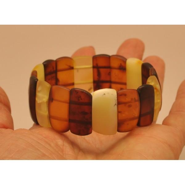 Amber bracelets | Unpolished Baltic amber bracelet