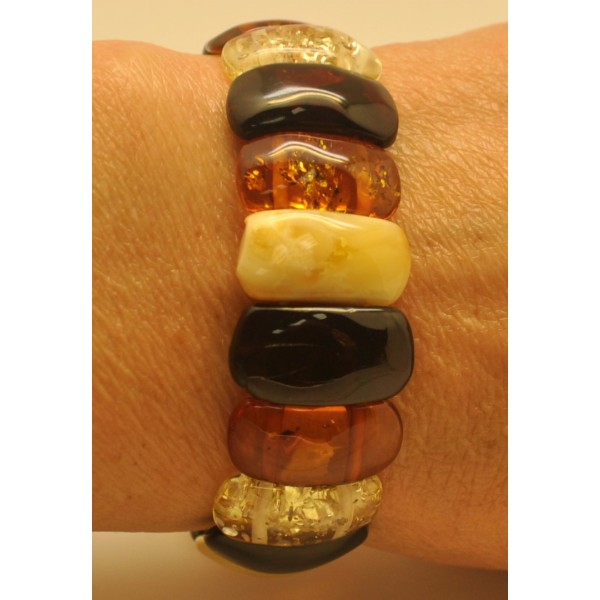 Amber bracelets | Classic Baltic amber bracelet