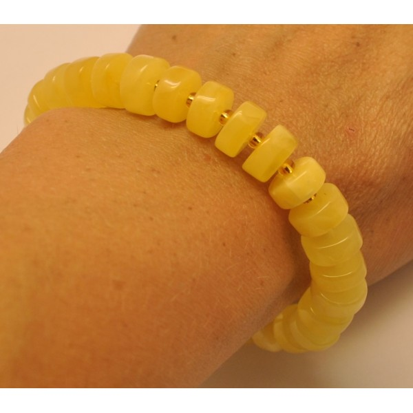 Baltic amber elastic bracelet-AB2805