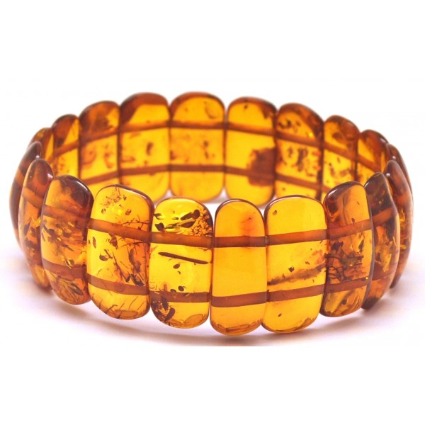 Classic Baltic amber bracelet-AB2865