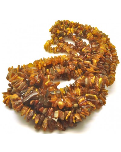 5 Real Antique  Baltic amber  necklaces