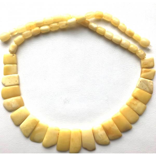 Butterscotch Baltic amber choker necklace -