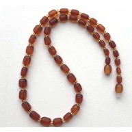 Genuine BALTIC AMBER unpolished necklace-AN2251