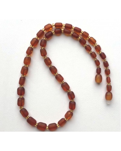 Genuine BALTIC AMBER unpolished necklace