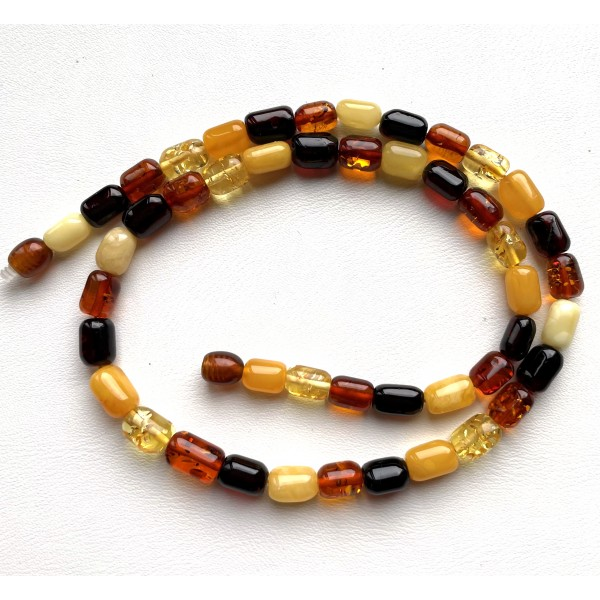 Baltic amber necklace for man and woman -