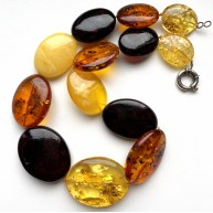 Massive Real Baltic Amber Necklace 125 g.