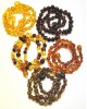 Amber teething necklaces | Lot of 10 Baroque beads Baltic amber teething necklaces