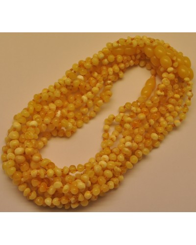 10 Baroque beads Baltic amber teething necklaces