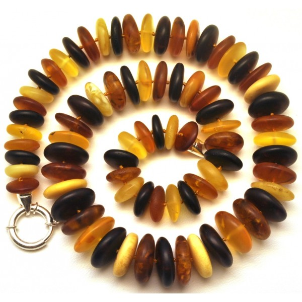 Amber necklaces | Unpolished Baltic amber necklace