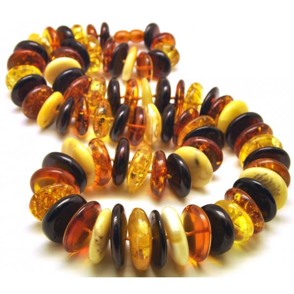 Baltic amber necklace-AN1969