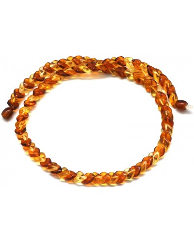 Tear drop Baltic amber necklace