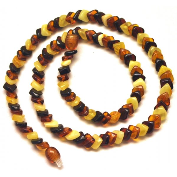 Tear drop Baltic amber necklace-AN2157
