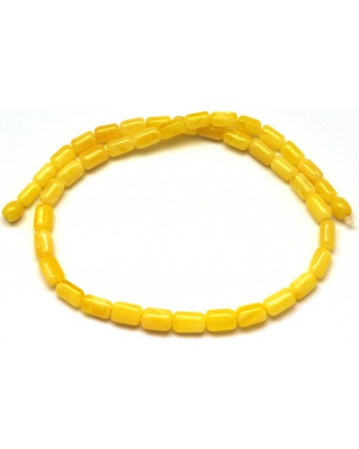 Greek style yellow Baltic amber necklace