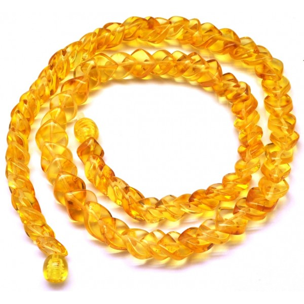 Amber necklaces | Tear drop Baltic amber necklace