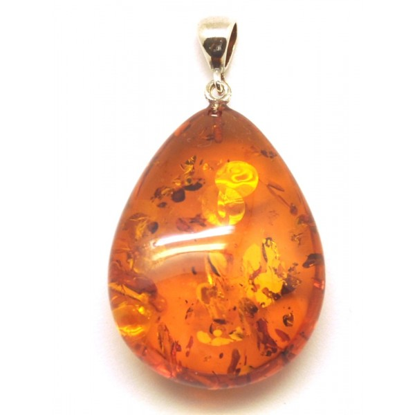 Amber pendants | Baltic amber drop pendant