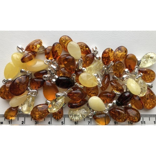 Amber pendants | 50g Amber drop pendants