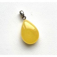 Amber Drop Pendant Made of Natural Amber 2,1 g.