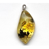 Amber Pendant Made of Natural Baltic Amber