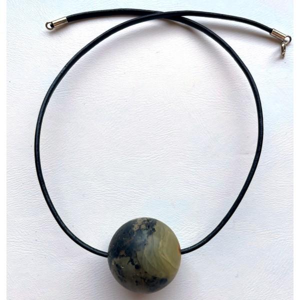 Raw Baltic amber pendant - AP1440