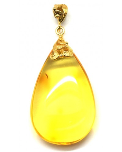 Baltic amber drop pendant 11 g.
