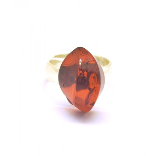 Baltic amber ring-AR0135