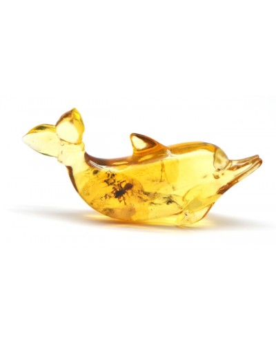 Insect in Baltic amber figurine